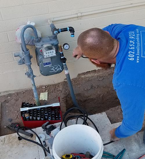 Natural Gas Piping Kowality Plumbing